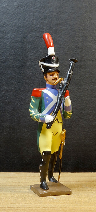 soldats de plomb et figurines de collection - boutique au plat d'étain à Paris - garde à pied d'amsterdam