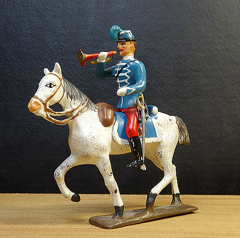 soldats de plomb et figurines de collection - boutique au plat d'étain à Paris - hussard